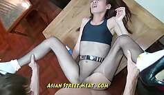 hot filipina that is sexy is feeling some lust and area anal