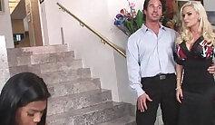 Amazing pornstars Tanay Dukachenko and El Adriano in hottest threesome, mature xxx video