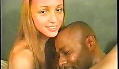 Black girl gets gobbled