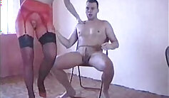 Art of Sucking Piss in Babes bra And Pantyhose