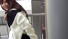 Bosomy Japanese babe Ayaka Harusaki teases, spreads vulva and gets fucked extremely well